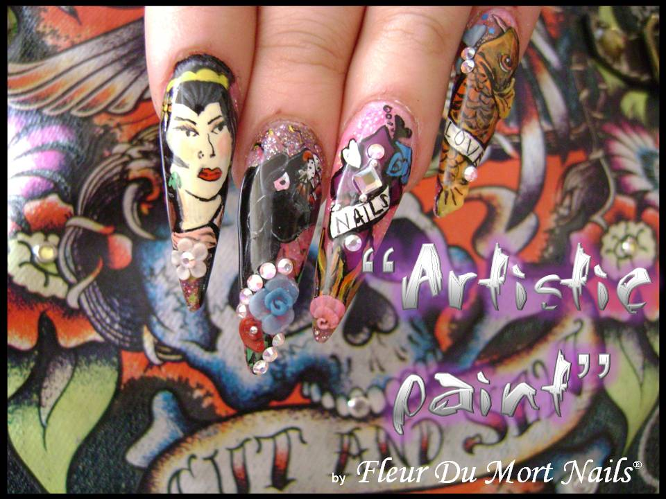 """Clase """"Ed Hardy Artistic Paint"""" 