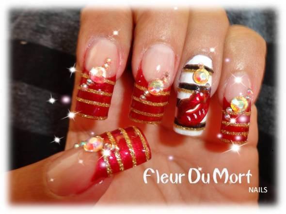 Fotos de uñas de acrílico decoradas - IMujer - vix.com