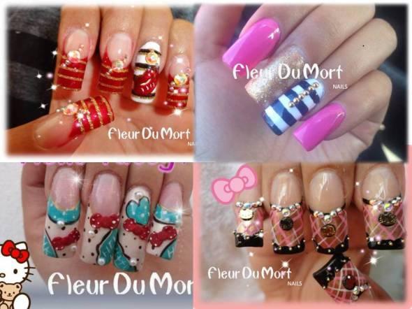 aplicacion de uñas